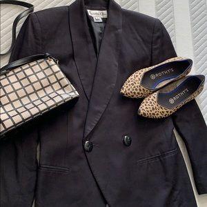 Vintage Christian Dior Navy Blazer, size 2